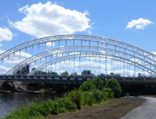 Strandherd Armstrong Bridge Erection