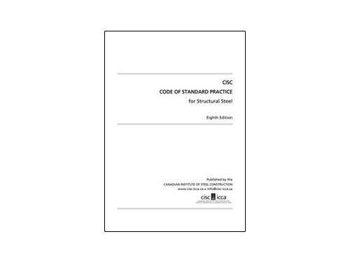 Cisc code of standard practice for structural steel 8th edition.