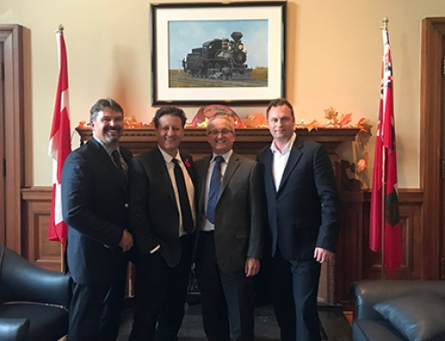 Manitoba/NW Ontario Members & Associates Drive the Voice of Steel Construction at the Legislature