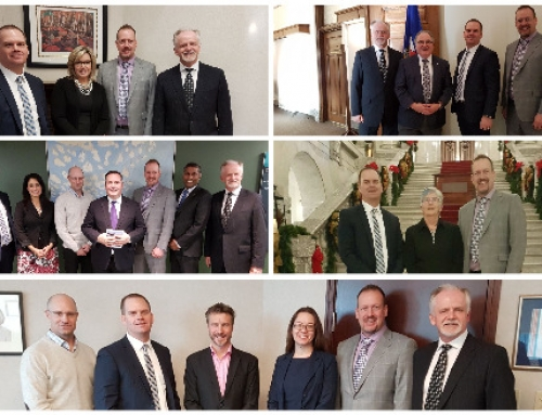 CISC Alberta gets strong support from MLAs on key industry issues at Day at the Legislature