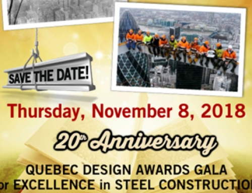 CISC Quebec will celebrate the 20th anniversary of the Quebec Design Awards Gala