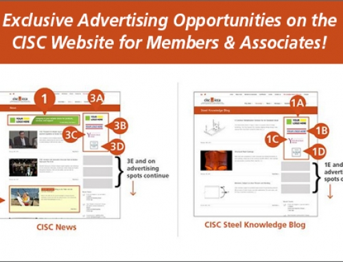 Exclusive online advertising opportunities on the CISC website for Members & Associates