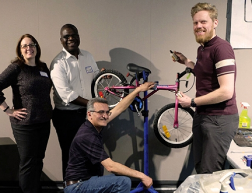 CISC Manitoba's networking event builds bicycles for local charity & celebrates sustainable steel