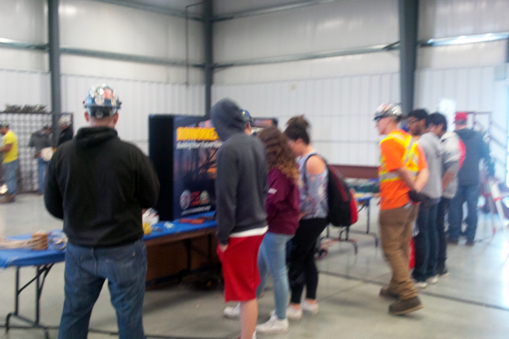 Students get interactive and learn about Manitoba's steel