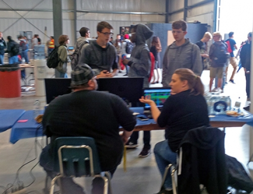 Students get interactive and learn about Manitoba's steel industry at career day