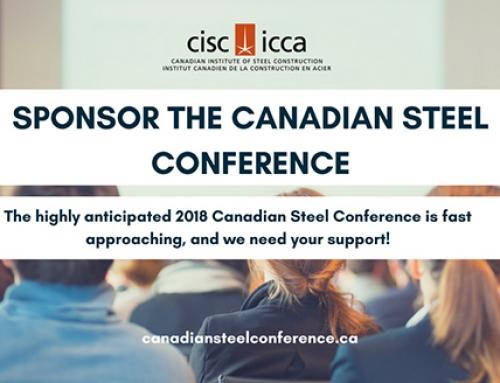 Tout ce que vous devez savoir au sujet du parrainage et de l'exposition à la Conférence canadienne de l'acier de 2018
