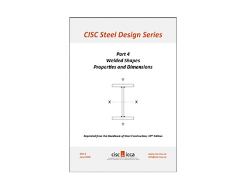 Steel Design Series – Welded Shapes