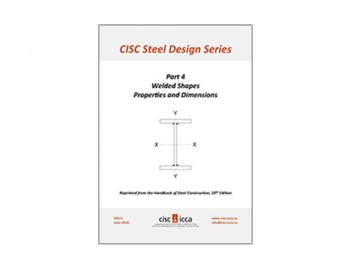 Steel Design Series – Welded Shapes