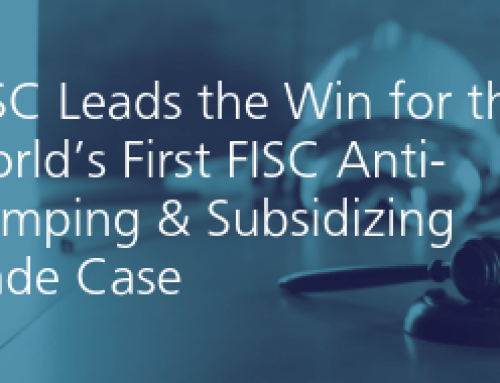 CISC Leads the Win for the World's First FISC Anti-Dumping & Subsidizing Trade Case