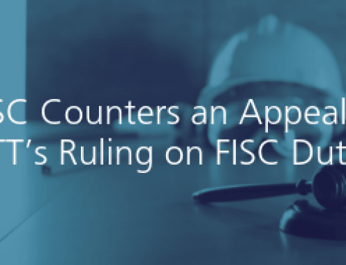 CISC Counters an Appeal to CITT's Ruling on FISC Duties
