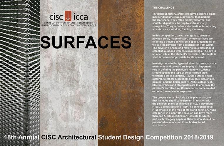 Architecture Student Design Competition – CISC-ICCA