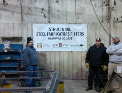 First-Ever Structural Steel Fabricators Fitters Course Kicks Off In Manitoba!
