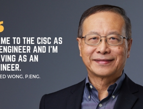 CISC Engineer, Alfred Wong Retires After 40 Years in the Steel Industry!