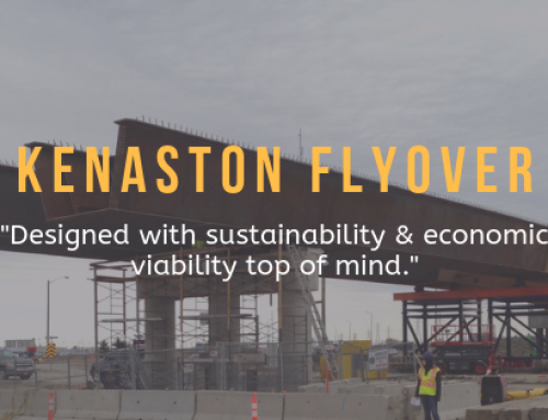 Unique Girders Essential to Winnipeg's Kenaston Flyover Project