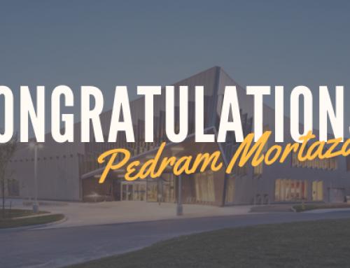 Congratulations to the 2019 G.J. Jackson Fellowship Award Recipient, Pedram Mortazavi