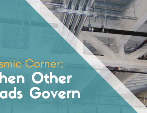Seismic Corner: When Other Loads Govern