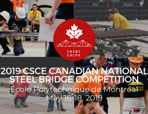 A Preliminary Schedule for the 2019 Canadian National Steel Bridge Competition is Now Available