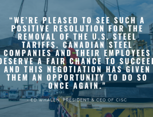 The Canadian Institute of Steel Construction Is Pleased with The Removal of U.S. Steel Tariffs and Canadian Countermeasures