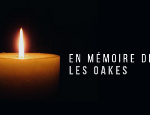 En mémoire de Les Oakes