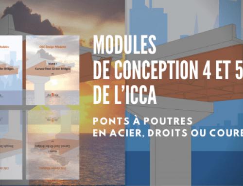 Modules de conception 4 et 5 de l'ICCA – Ponts à poutres en acier, droits ou courbés