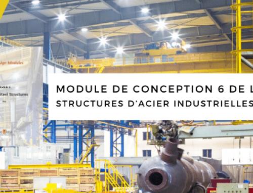 Module de conception 6 de l'ICCA – Structures d'acier industrielles