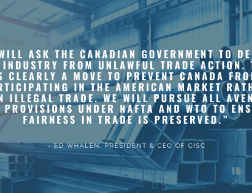 U.S. Slaps Duties on Canadian Structural Steel