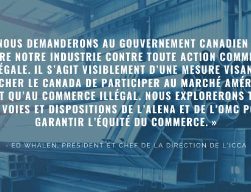 Les États-Unis Imposent Des Droits Sur L'acier De Structures Canadien