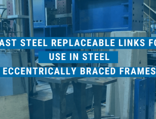 Cast Steel Replaceable Links for use in Steel Eccentrically Braced Frames