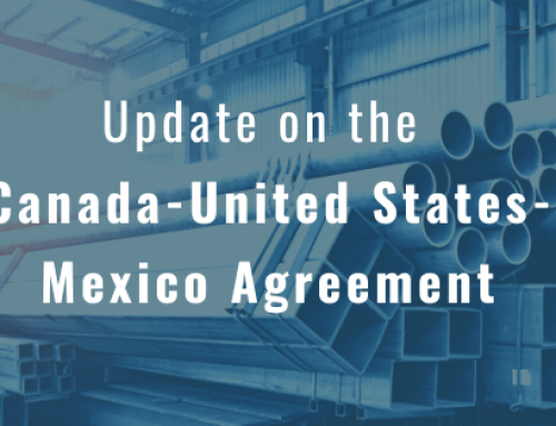 Update on the Canada-United States-Mexico Agreement