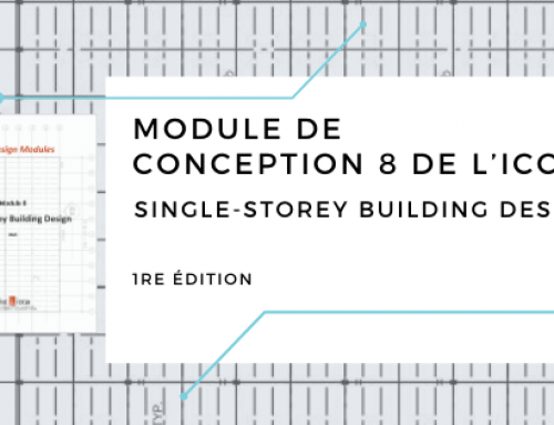 Module de conception 8 de l'ICCA – Single-Storey Building Design, 1re édition
