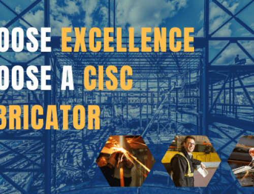 Choose Excellence. Choose a CISC Fabricator