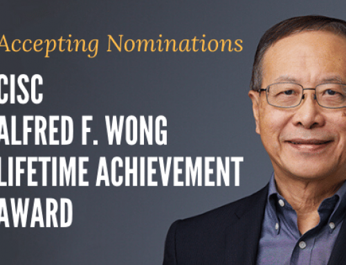 Accepting Nominations for the CISC Alfred F. Wong Lifetime Achievement Award