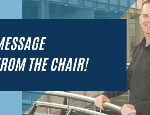 Message from the Chair!