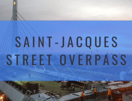 Saint-Jacques Street Overpass: A Cable-Stayed Bridge Conceived with Ingenuity!