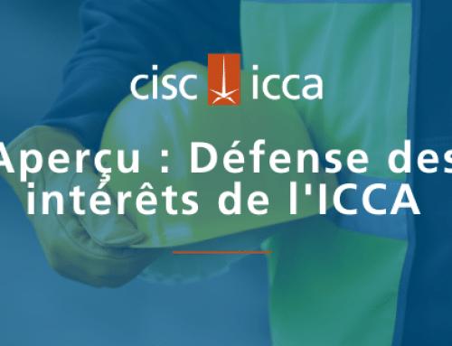 L'ICCA revendique le lancement immédiat des programmes de relance des infrastructures