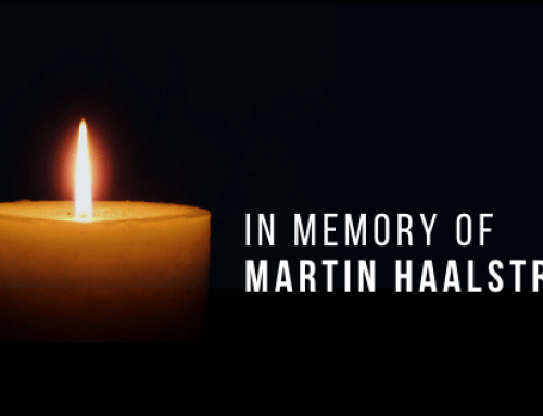 In Memory of Martin Haalstra