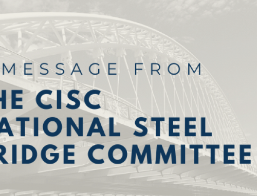 Message From the CISC National Steel Bridge Committee