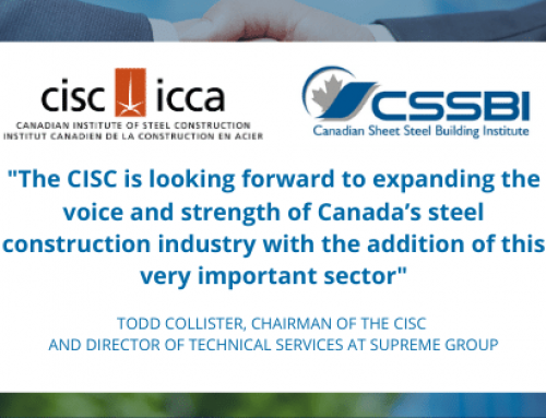 The Voice of the Canadian Steel Construction Industry Gets Stronger