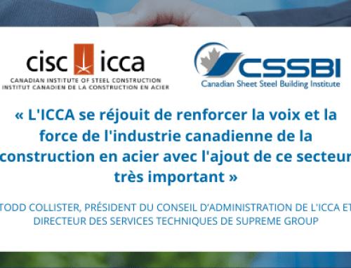 La voix de l'industrie canadienne de la construction en acier se solidifie