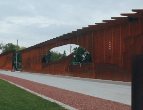 The Upper Fort Garry Heritage Wall – Upper Fort Garry, Winnipeg