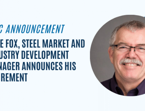 Mike Fox, Steel Market and Industry Development Manager Announces His Retirement