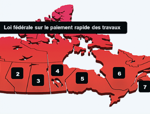 Un aperçu de l'évolution récente des réformes en matière de paiement rapide et de droit de la construction au Canada