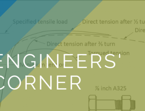 Engineers' Corner: Excessive Rotation During Bolt Installation