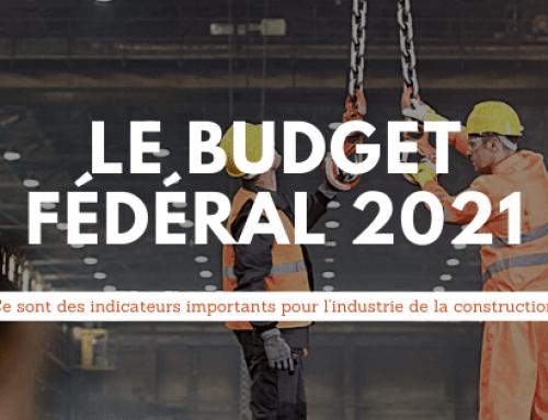 Le budget fédéral 2021