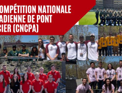 La compétition nationale canadienne de pont d'acier (CNCPA)