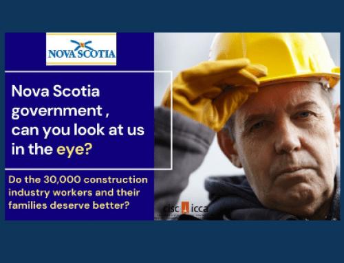 La campagne de l'ICCA pour exercer une pression sur le gouvernement de la Nouvelle-Écosse